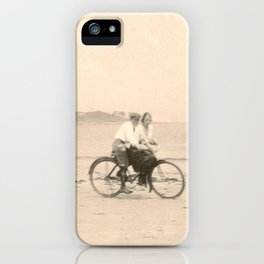 Love on a Bicycle iPhone Case