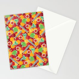Geeky Neville Longbottom Pattern Stationery Cards
