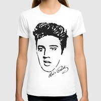 elvis T-shirts featuring Elvis! by John Medbury (LAZY J Studios)
