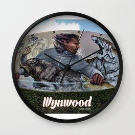 Wynwood Grafitty Wall Clock
