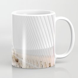 The Oculus at the World Trade Center | Calatrava #architecture #society6 Coffee Mug