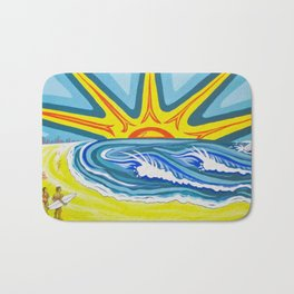 Surfers Summer Days Bath Mat