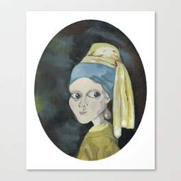 Girl with the Pearl Earring Canvas Print