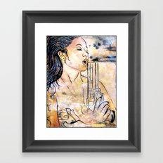 Caliber Love #4  Framed Art Print