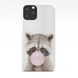 Bubble Gum Raccoon iPhone Case