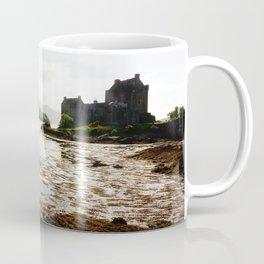Beautiful scenery in the Eilean Donan Castle, Scotland Coffee Mug