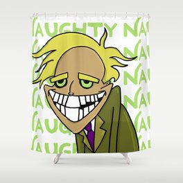 Freaky Fred Shower Curtain