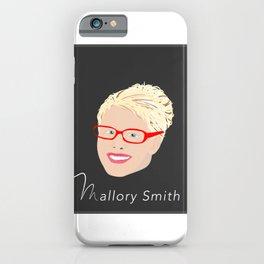 Mallory Smith Head iPhone Case