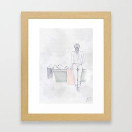Figures Framed Art Print