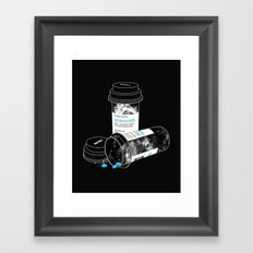 Space RX Framed Art Print