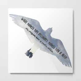 - what makes you ordinary - miss peregrines Metal Print