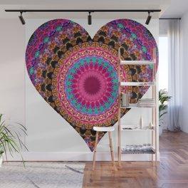 XL Valentine's Heart 4 Wall Mural