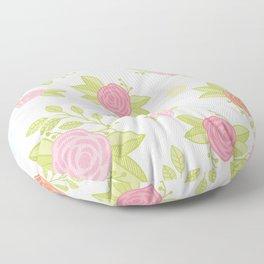 Garden of Fairies Pattern Floor Pillow
