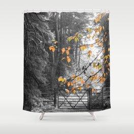 Hint of Autumn Shower Curtain