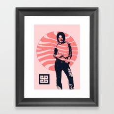 jean ad 2 Framed Art Print