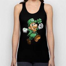 Lucky Mario Unisex Tank Top