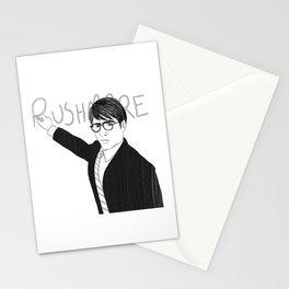 Jason Schwartzman writing on chalkboard Stationery Cards
