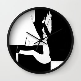 BW.Fall.2 Wall Clock