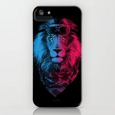 lion rider iPhone (5, 5s) Slim Case