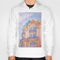 art nouveau Hoodies featuring art nouveau by Tereza Del Pilar