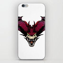 Vampiric Demon Face iPhone Skin