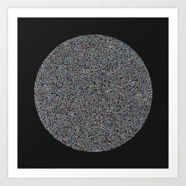 Circular Madness Art Print
