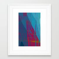 reassurance Framed Art Prints featuring Feel the texture III by Magdalena Hristova