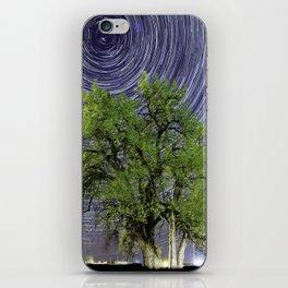 Grandfather Tree under the Stars iPhone Skin