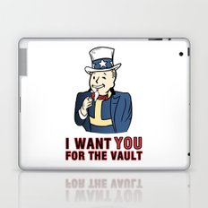 I Want You for the Vault Laptop & iPad Skin