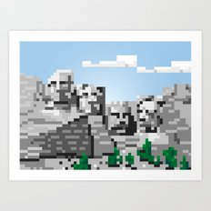 south dakota rocks Art Print