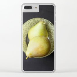 Pears Still life Clear iPhone Case