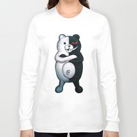 dangan ronpa Long Sleeve T-shirts featuring Monobear by Prince Of Darkness