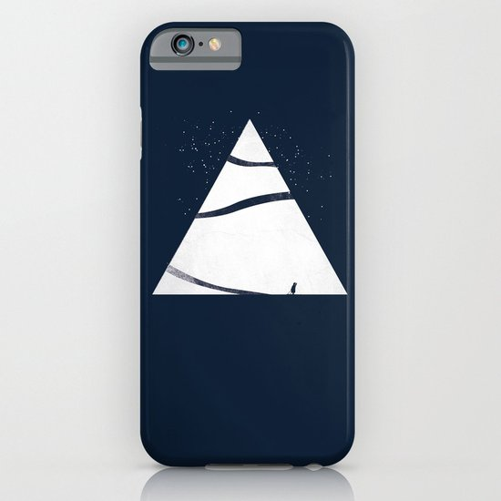 time to snow! iPhone & iPod Case