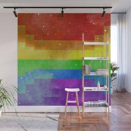 Love is Love Rainbow Flag Wall Mural