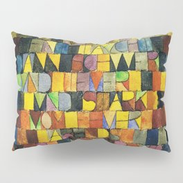 Paul Klee Once Emerged from the Gray of Night Pillow Sham