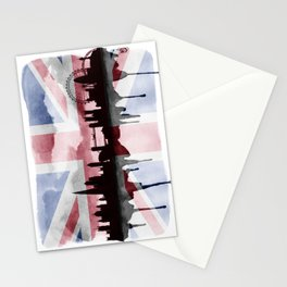 Great British Flag London Skyline 2 Stationery Cards