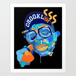 Spike. Art Print