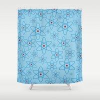 teacher Shower Curtains featuring School teacher #4 by Juliana RW
