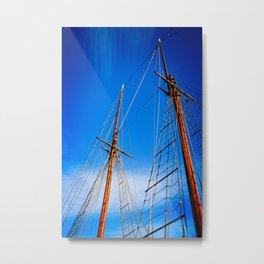 Boat mast 1 Metal Print