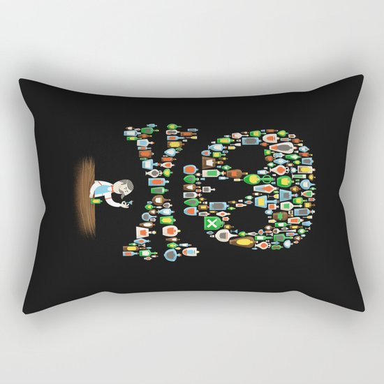 What's your poison? Rectangular Pillow