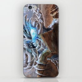 Bladed Dragon iPhone Skin
