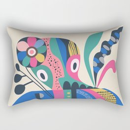 Miss Octopus Rectangular Pillow