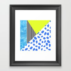 Post Modern Summer Framed Art Print