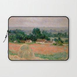 Haystack at Giverny Laptop Sleeve