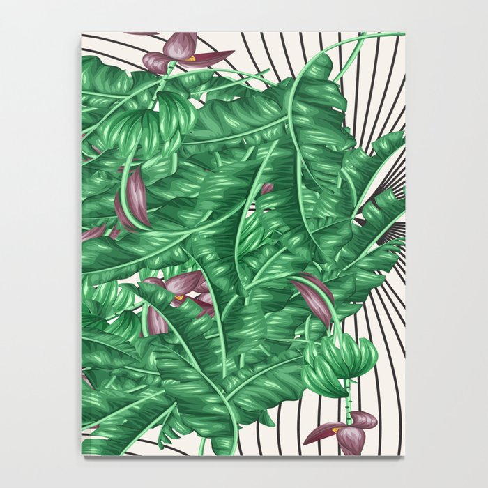 tropical nature Notebook