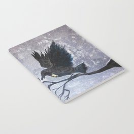 Keyhole Raven Notebook