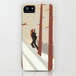 I would be... an explorer  iPhone Case