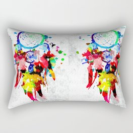 Dreamcatcher Grunge Rectangular Pillow