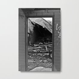 Doorway II Metal Print