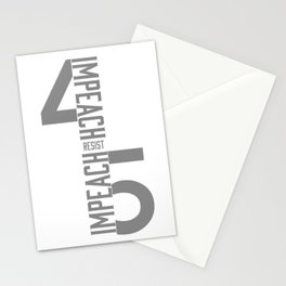 RESIST / IMPEACH 45 Stationery Cards